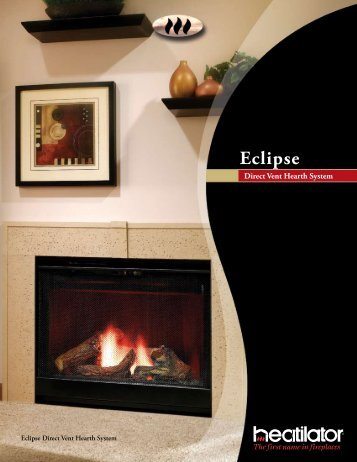 Eclipse Direct Vent Hearth System - At Andiron Fireplace Shop