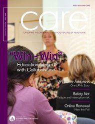 Education Infused with Collaboration - College of Licensed Practical ...