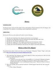 Hunt for the Alligator - USS Alligator History - Nauticus