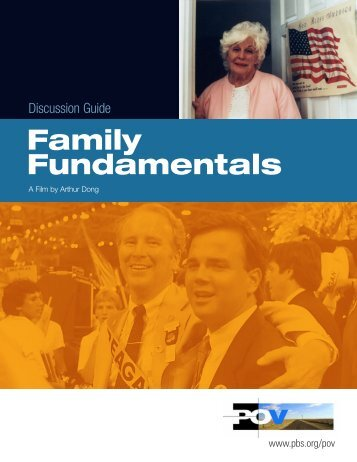 Discussion Guide | Family Fundamentals - PBS