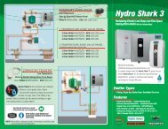 Modulating Electric Low-Temp Low-Flow Space ... - Hydro-smart.com