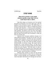 Step Nine.pdf - Marijuana Anonymous