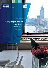 Luxury experiences in China - KPMG
