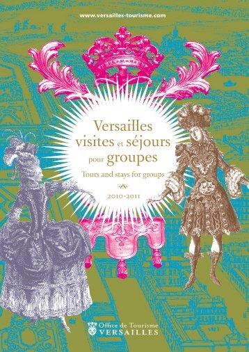 brochure - Office de tourisme de Versailles