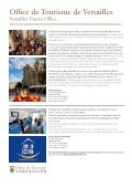 brochure - Office de tourisme de Versailles - Page 4