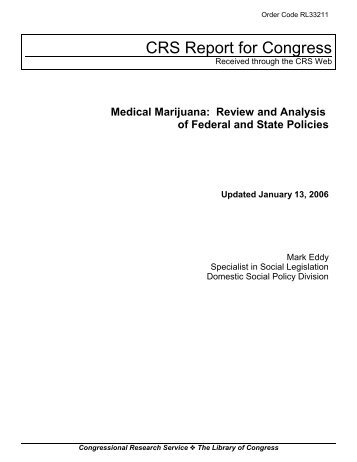 Medical Marijuana - Drug Policy Alliance