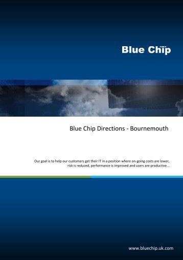 Download directions - Blue Chip - UK.COM