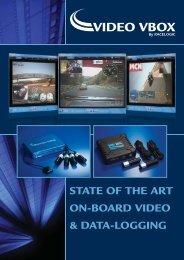 state of the art on-board video & data-logging - Racelogic