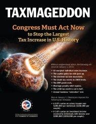 Taxmageddon - US Chamber of Commerce