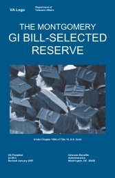 Chapter 1606 - GI Bill