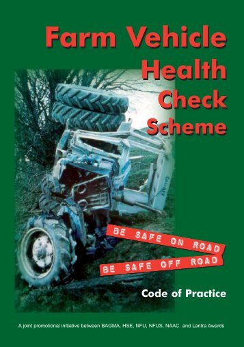 Farm Vehicle Health Check Scheme