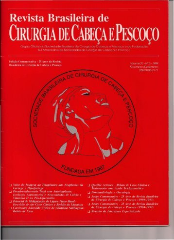 Clique aqui para ler o trabalho. - Sociedade Brasileira de Cirurgia ...