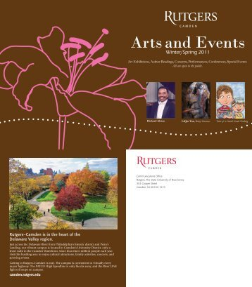 Arts and Events - Rutgers University-Camden - Rutgers, The State ...