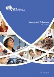 Monograph Collection, Issue 1, 2011 - VETnetwork Australia
