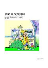 Brug af regnvand til wc-skyl og vaskemaskiner i ... - Erhvervsstyrelsen