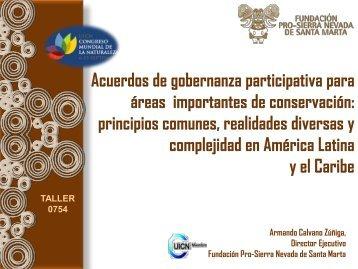 Presentación de Armando Calvano - Colombia - IUCN Portals