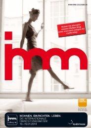 Bestellformulare Media-Shop (pdf) - IMM Cologne