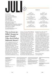 Was zu lesen ge- fällig? - Das Kulturmagazin für den Aargau
