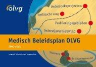 Medisch beleidsplan 2010-2014 - Olvg