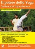 Vacanze Yoga - Sivananda Yoga Firenze - Page 3