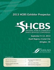 2013 Conference Prospectus - National Association of States United ...