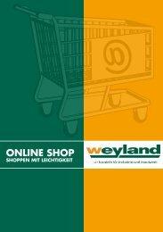 Onlineshop Hilfe - Weyland GmbH