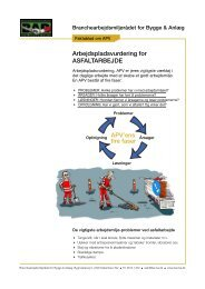 12. APV Asfaltarbejde v3.indd - BAR Bygge & Anlæg