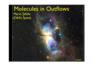 Molecules in Outflows