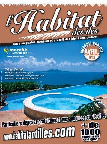 Habitat conseils... - Occasion Antilles