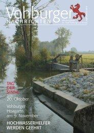 September 2013 - Stadt Vohburg