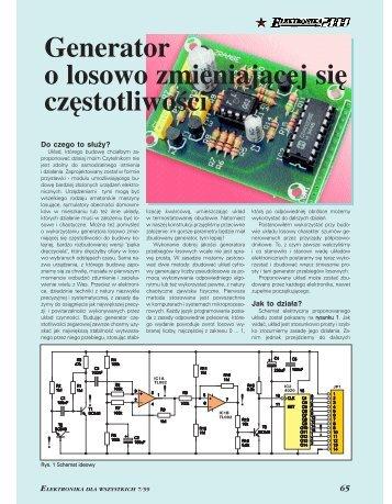 Generator o losowo zmieniającej się częstotliwości - Elportal