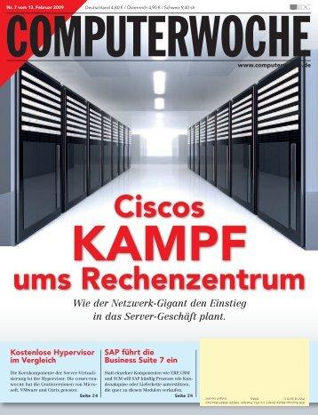 Ciscos ums Rechenzentrum