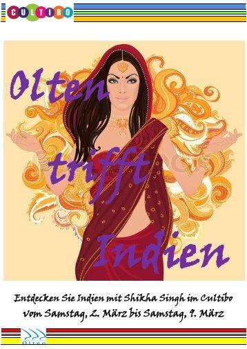 Flyer Indische Woche