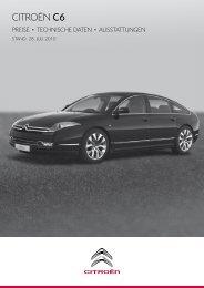 CITROËN C6 Preisliste - Haustein Motors Chemnitz eK