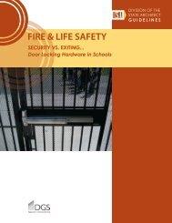 SECURITY VS. EXITING Door Locking Hardware In Schools