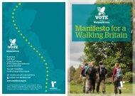 Manifesto for a Walking Britain
