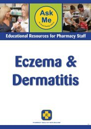 Eczema & Dermatitis - Pharmacy Guild of New Zealand