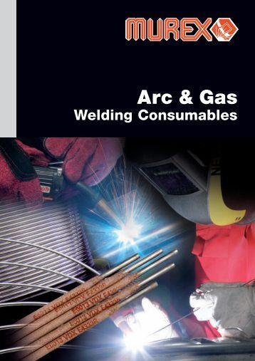 Arc & Gas Welding Consumables - Murex