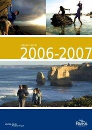 Parks Victoria Annual Report 2006-07