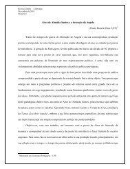 Aires de Almeida Santos e a invenção da Angola ( Paulo Ricardo ...