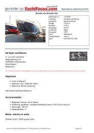 Ad Spek Jachtbouw - Yachtfocus