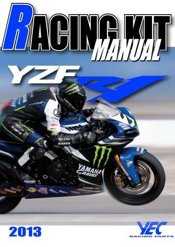 6 '13 YZF-R1 キットパーツ部品番号互換表 - Yamaha Racing Parts
