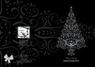 Enjoy Your Christmas Celebration At The Chace ... - Corus Hotels