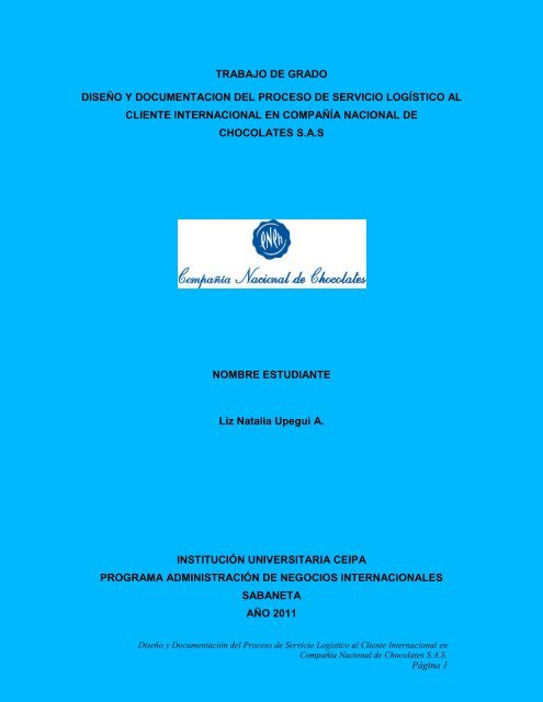 Modelo De Negocio Instituciã N Universitaria Ceipa
