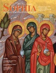 Sophia Spring12 - Melkite Eparchy of Newton