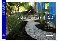 Sachbericht 2011 - TÄKS e.V.