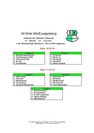 SV Grün Weiß Langenberg - Grün-Weiss-Langenberg