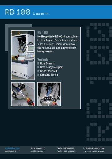 RB 100 Vorteile - Guido Kübler GmbH