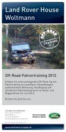 Land Rover House Woltmann - Woltmann Gruppe
