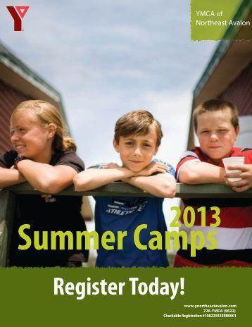 CS Summer Camp 2013 1-4 - the YMCA of Northeast Avalon